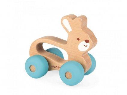Janod Dřevěná hračka - Zajíček