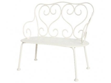 ramantic bench white
