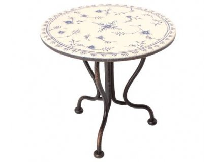 vintage tea table