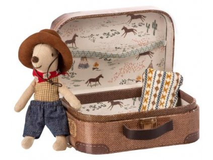 cowboy in suitcase little brother