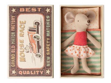 Maileg Myška v krabičce - Little Sister