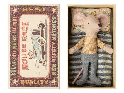 Maileg Myška v krabičce od sirek - Little Brother