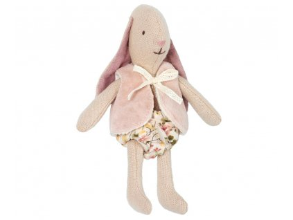 Maileg Malá králičí holčička ve vestě - Micro