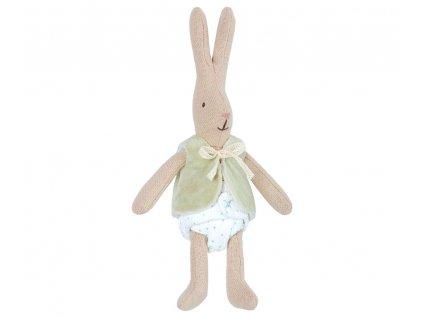 Maileg Malý králičí chlapeček ve vestě - Micro