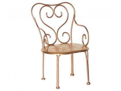 chair gold micro