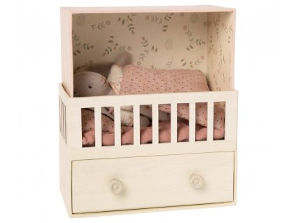 baby room with micro bunny