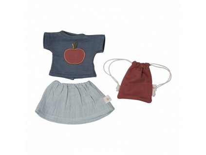 Doll Clothes set T shirt Skirt (primary)