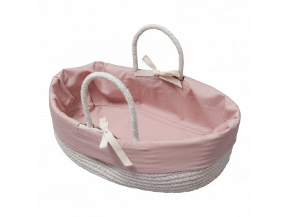Doll Basket with cover Mauve (primary)