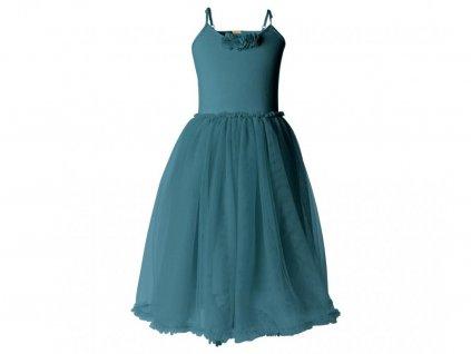 Maileg Dětské šaty pro ballerinu Petrol