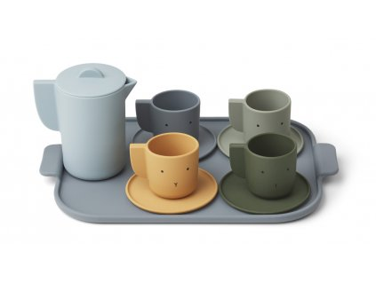 LW12828 Ophelia tea set 6911 Blue multi mix Extra 0