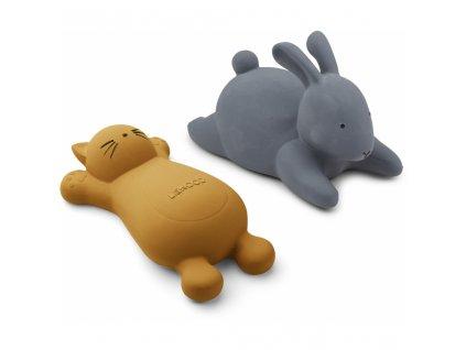 LW12778 Vikky bath toys 2 pack 0024 Cat mustard Extra 0