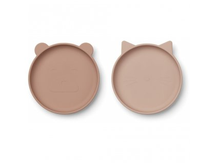 LW12930 Olivia plate 2 pack 9299 Rose mix Extra 0