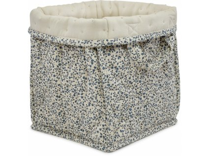 KS1211 SMALL QUILTED BOX BLUE BLOSSOM MIST Main