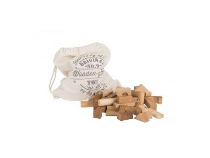 natural blocks 100 pcs in sack