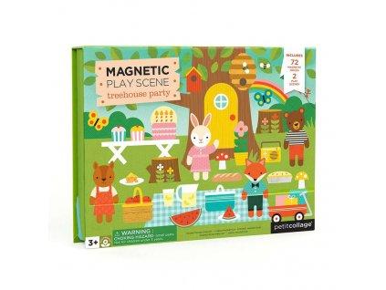 Petitcollage Magnetické divadlo - Zvířátka