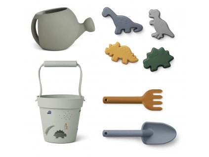 LW13097 Florence beach & garden set 7115 Dino blue mix Extra 0