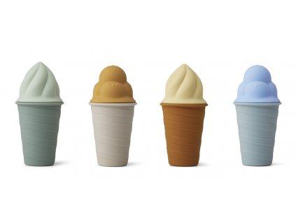 LW14195 Bay ice cream toy 4 pack 7124 Sky blue multi mix Extra 0