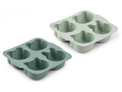 LW13001 Mariam cake pan 2 pack 8001 Mint mix Extra 0