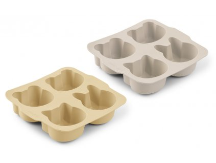 LW13001 Mariam cake pan 2 pack 9533 Wheat yellow sandy mix Extra 0