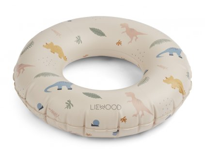 LW12908 Baloo swim ring 0240 Dino mix Extra 0