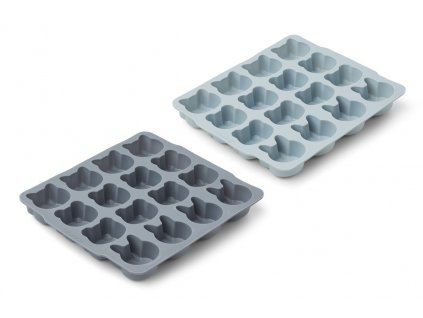 LW13002 Sonny ice cube tray 2 pack 9298 Blue mix Extra 0