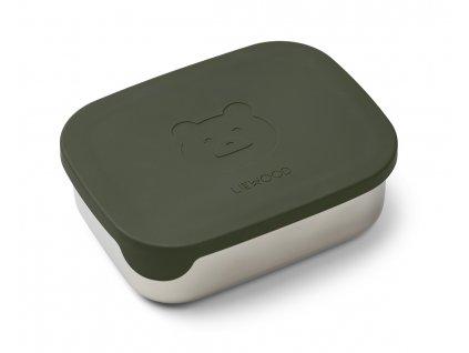 LW12981 Arthur lunchbox 7349 Mr bear hunter green Extra 0