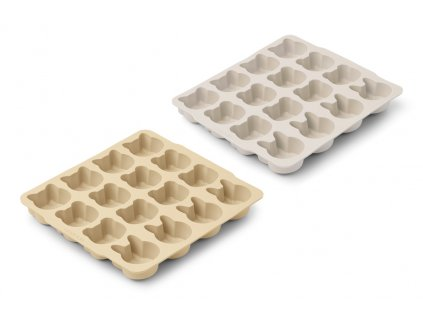 LW13002 Sonny ice cube tray 2 pack 9533 Wheat yellow sandy mix Extra 0