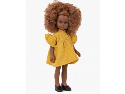 minikane collection amigas poupee melissa et sa robe daisy moutarde