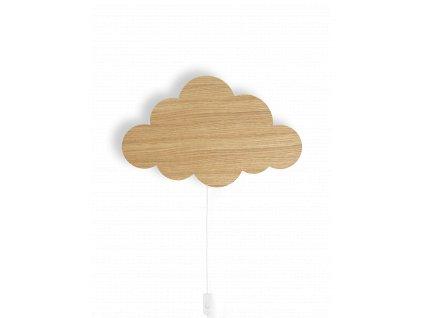 fermLIVING Nástěnná lampička Cloud Oiled Oak