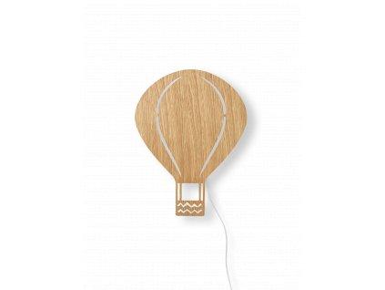 fermLIVING Nástěnná lampička Air Balloon Oiled Oak