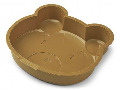 LW14243 Amory cake pan 9457 Mr bear golden caramel Extra 0