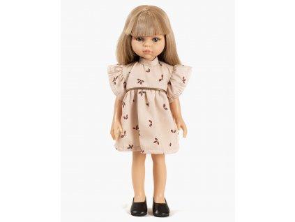 Collection Minikane poupee amigas nouveautes automne hiver 2021 carla et sa robe daisy coton motif vegetal look