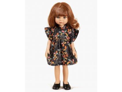 Collection Minikane poupee amigas nouveautes automne hiver 2021 christi et sa robe daisy coton motif mesanges look
