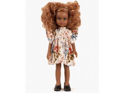 Collection Minikane poupee amigas nouveautes automne hiver 2021 melissa et sa robe daisy coton motif adonis look