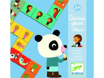 Djeco Domino - Kamarádská zvířátka