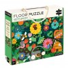 Petitcollage Podlahové puzzle - Tajemná zahrada