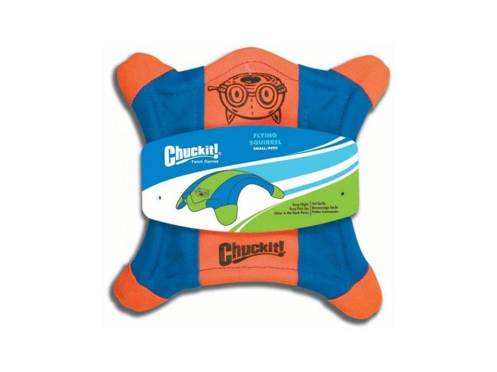 4387 1 letajici talir s veverka oranzovo modra