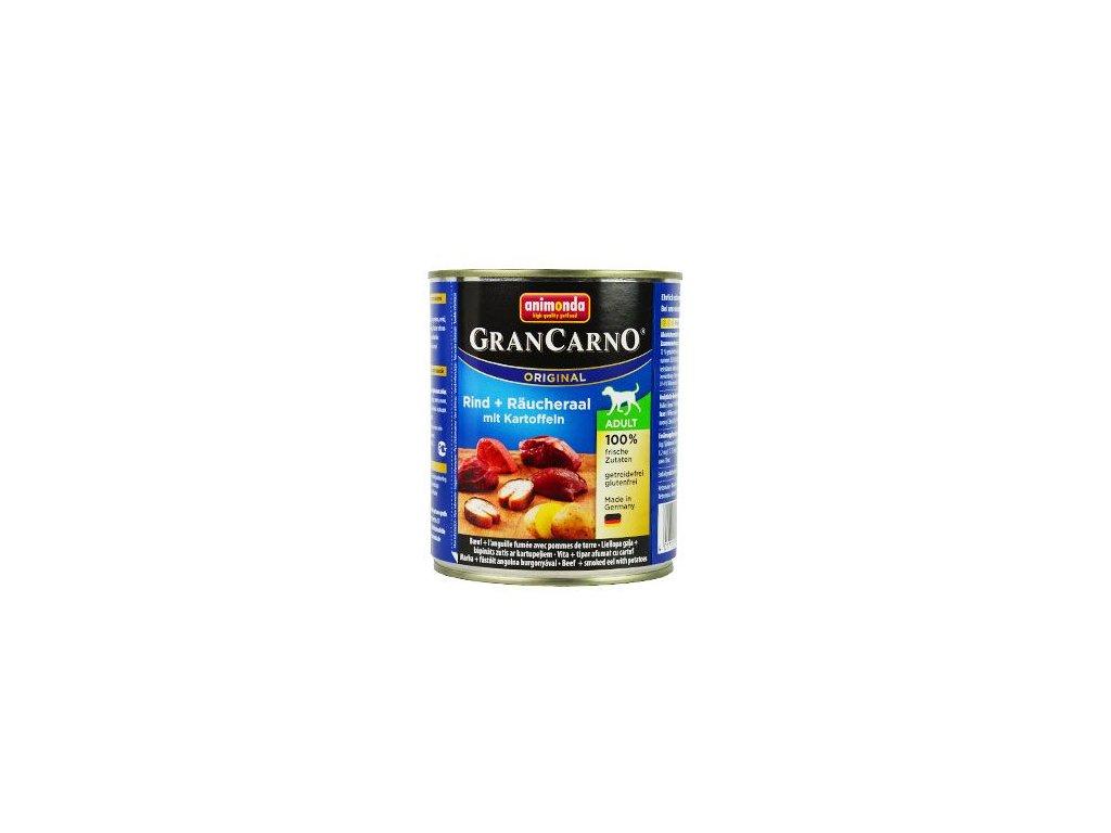 Animonda GRANCARNO konzerva ADULT úhoř/brambor 800g