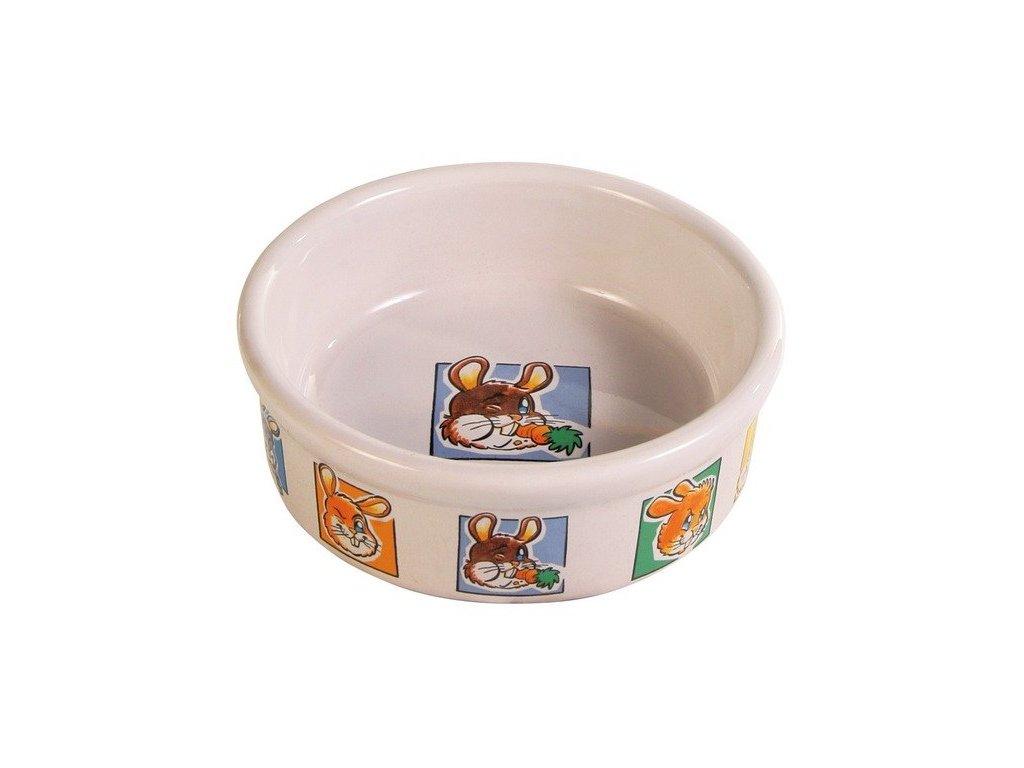 Porcelánová miska králík  240ml/11cm TRIXIE