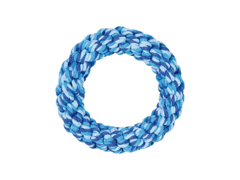 Bavlněný kroužek spletený 15 cm