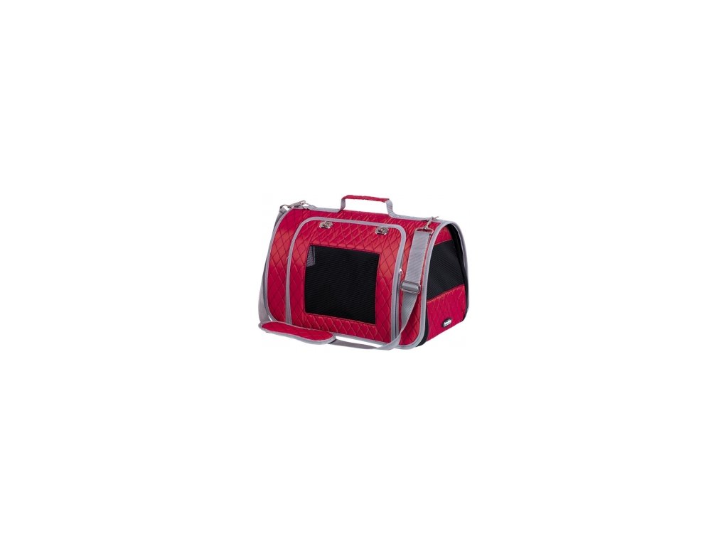 Nobby přepravní taška KALINA do 7kg červená 44 x 25 x 27 cm