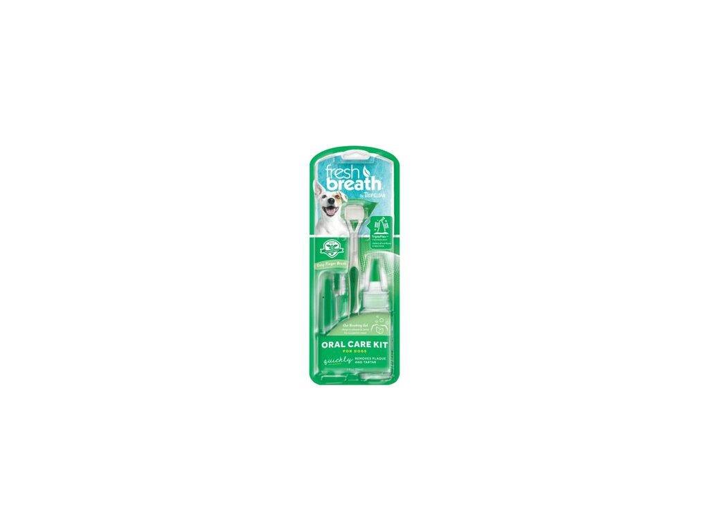 Oral Kit M/L - gel s kartáčky - pro psy - 59 ml