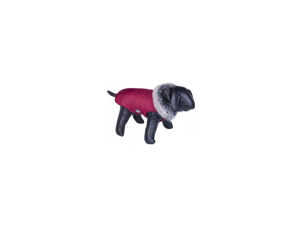 Nobby ADUA obleček pro psa červená s kožíškem