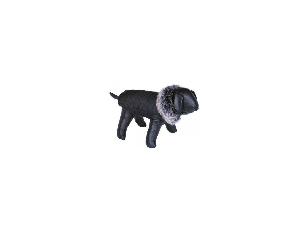 Nobby ADUA obleček pro psa černá s kožíškem