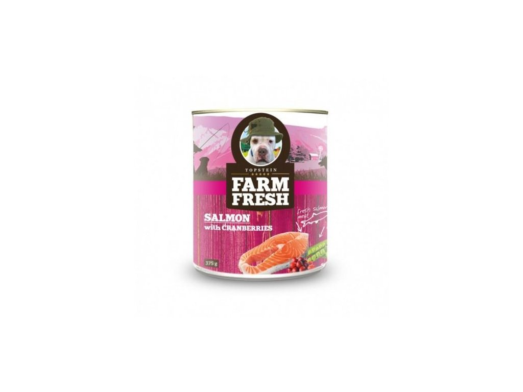 farm fresh salmon with cranberries 375g