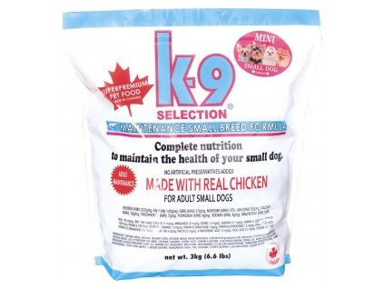 k 9 selection maintenance formula krmivo pro dospele psy