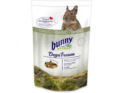 Bunny Nature krmivo pro osmáky degu - basic 1,2 kg