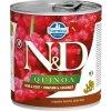 N&D QUINOA Dog konz. Venison & Coconut 285 g