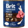 Brit Premium by Nature Dog konz. - Beef with Tripes 800 g