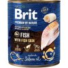 Brit Premium by Nature Dog konz. - Fish with Fish Skin 800 g